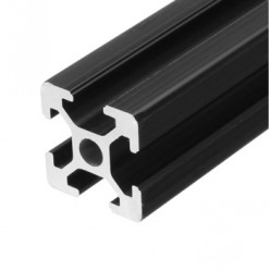 30x30 Siyah Sigma Profil 8 Kanal